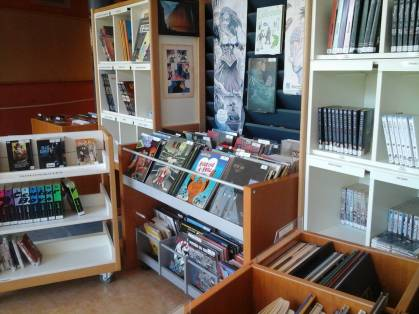secteur BD et mangas