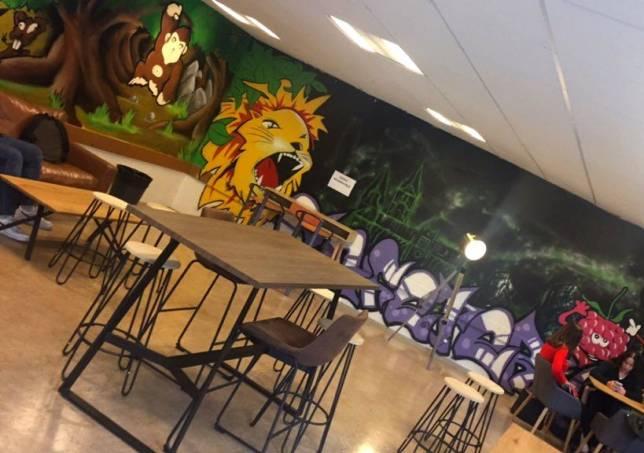 cafétéria étage